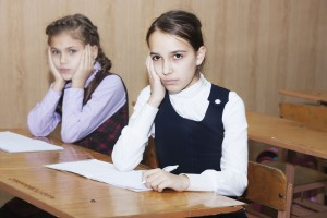 why is the fsa test bad? two unhappy girl students